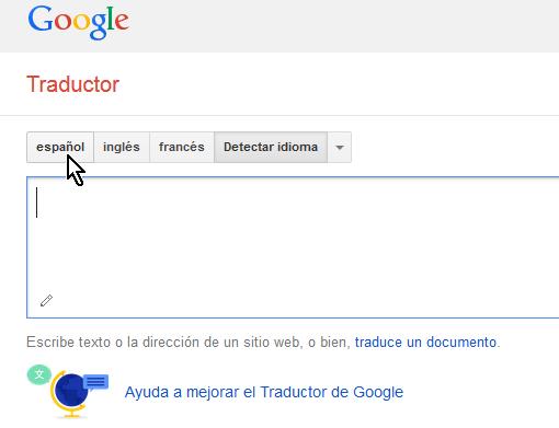 Traductor de Google para iOS