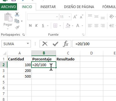 Cómo Calcular Porcentajes Con Excel Tecnicomo